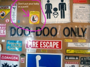 don't put your baby in a pan