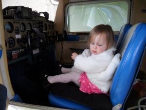 Cockpit of a cessna