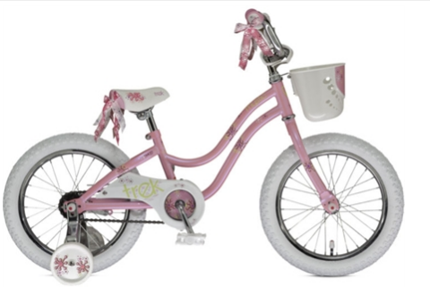 Example of a preschooler bike. Basket and everything.