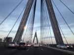 Anzac bridge from the car as we were driving to the city