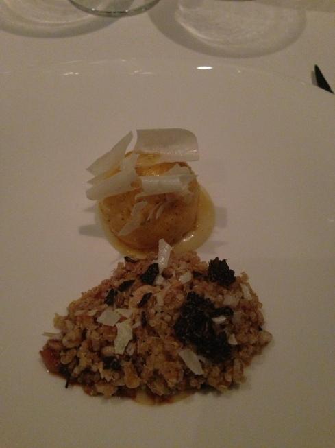 My quail dish