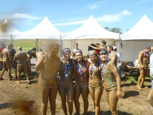 We finished the spartan race