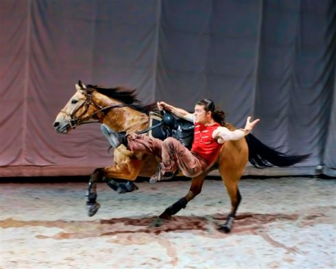 I can't wait to see Cavalia! I get to go opening night with Aaron.