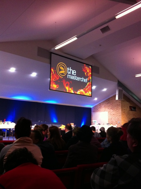 My church was packed out for The Masterchef event with Kate Bracks
