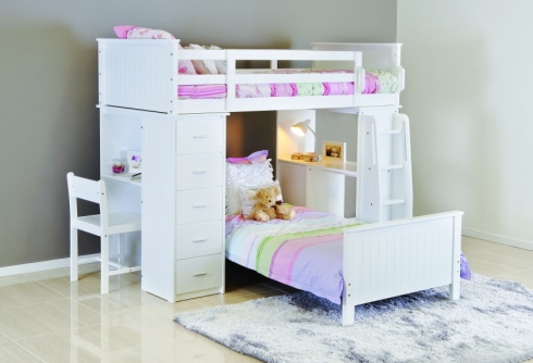 The kids loved this bed when we went spare room bed shopping.