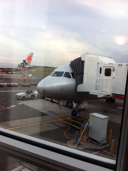 Our plane