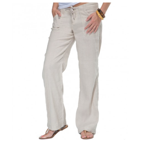 Bamboo linen pants.  They look so comfy.