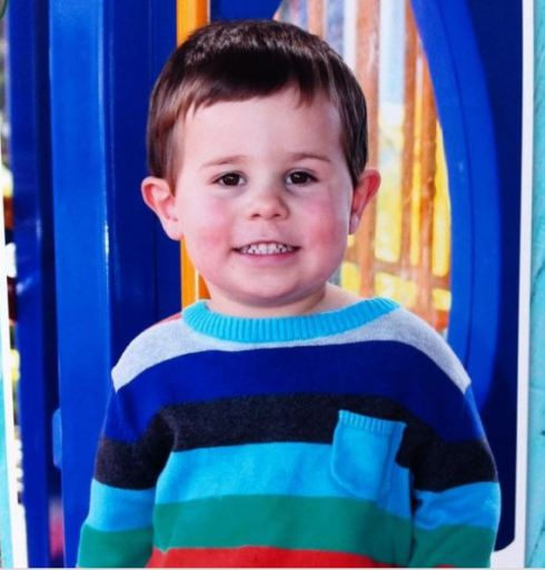 Daniel's daycare photo